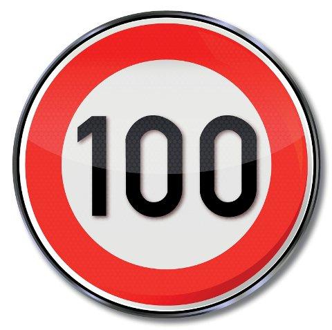 100-SONE: 21-åringen ble knepet i 183 km/t i 100-sonen ved Holmestrand.