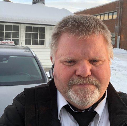 Frykter det verste: Drosjeeier Geir Morten Skaget frykter at tilbudet kan forsvinne helt. Han og selskapet er satt i en vanskelig situasjon, og valget han nå har tatt kan komme til å prege selskapets framtid.