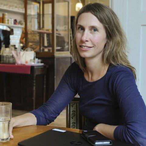 Fridag: Sofie Lund Danielsen nyter en lunsj på Caféen.