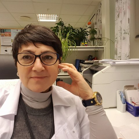SLUTTER: Kommuneoverlege Nadezda Wessel
