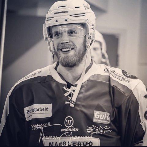 Ludvig Steenberg gleder seg til å spille for Narvik Hockey. Foto: Privat