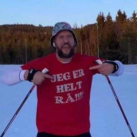 KONGEN: – Kæm e Kongen, sa Stig Granheim i kjent Northug-stil etter målpassering på Lillehammer.