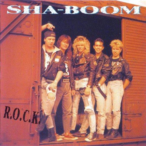 SINGEL: «R.O.C.K» fra 1989. Trommeslager Øystein Andersen fra Halden til venstre, Dagfinn Strøm i midten.
