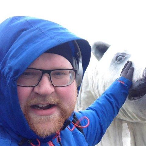 LENGSEL: Henning Pedersen lengter tilbake til Finnmark og håper å få bibliotekleder-jobben i Sør-Varanger.