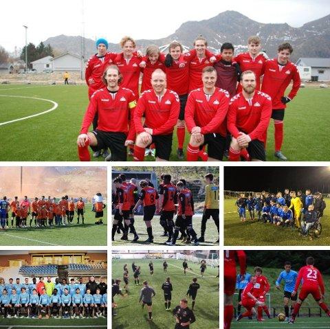 De syv klubbene håper at det blir fotballkamper i 2021-sesongen.