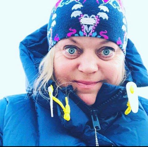 LEDER OG TOPPKANDIDAT: Elisabeth Krathe Steve i Råde Venstre.