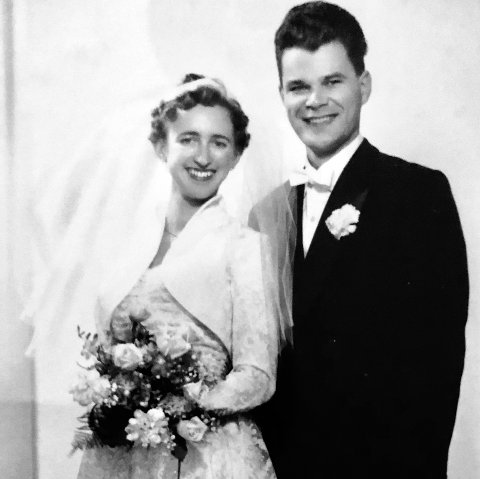 BRUDEPARET 21. DESEMBER 1958