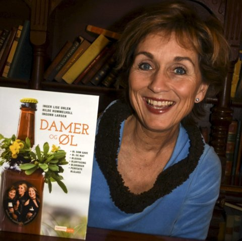 FORFATTER: Hilde Hummelvoll har vært med og skrevet «Damer og øl».