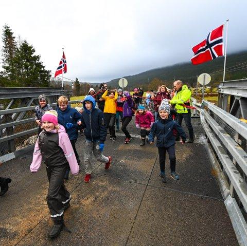 14. oktober ble reservebrua over til Grønfjelldalen åpnet, til stor glede. Nå ønsker fylkesrådet i Nordland å sette av 100 millioner kroner i økonomiplanen til en ny Nevernes bru.