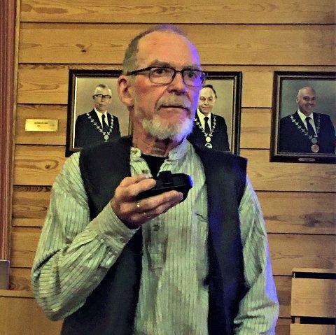Foredragsholder Aksel Holt