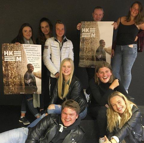 CREW: Et 20-talls ungdommer skal sørge for at fredagens ungdomsarrangement i Sekkefabrikken blir en minnerik kveld.