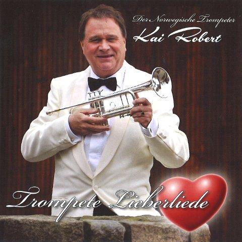 Plateklar: Kai Robert Johansen er ute med platen «Trompete Lieberliede», som er myntet på det tyske markedet.