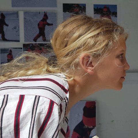 På sokkel: snart kommer 12 år gamle Ingrid Stalenget på sokkel i bestemoras heimbygd, Hemsedal.