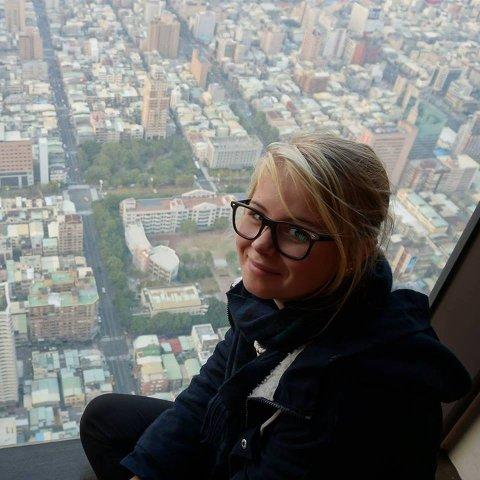 Marthe Sponberg, 17 år.