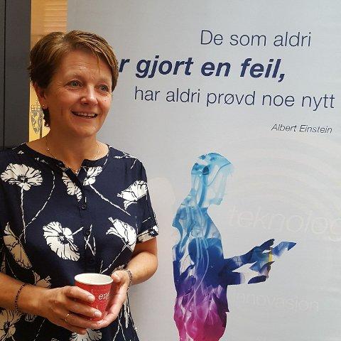 UHELDIG: Personal- og organisasjonssjef i Tysvær kommune Kristin Helle beskriver uhellet til en av kommunens brukere som svært uheldig.