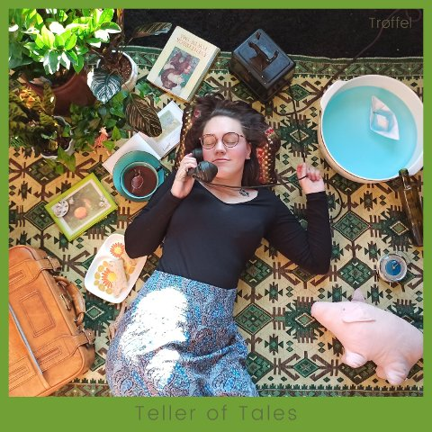 """Slipper album: Trøffel slipper debutalbumet """"Teller of Tales"""" 15. juni."""