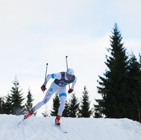 SLO TILBAKE: To dager, to konkurranser, tilsammen 30 kilometer langrenn - og til sammen 6,2 sekunder bak medalje for vinterens VM-overraskelse Harald Østberg Amundsen fra Asker under junior-NM i Harstad.