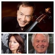 KONSERT: Musikerne Aage Kvalbein ( cello), Jens Harald Bratlie ( klaver) og Tone Braaten ( sopran) entrer scenen i Spira førstkommende torsdag.