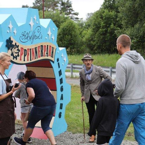 SUKSESS: Besøket i pop-up Oppfinnerparken i Lyngdal gikk over all forventning. Over 8000 var innom parken i sommer.