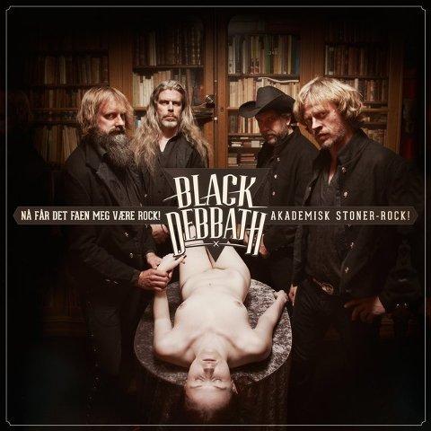 – Det lå ekte engasjement bak, sier Black Debbath-vokalist Lars Lønning.