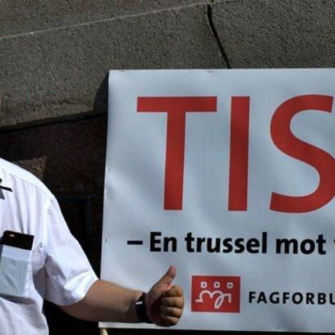 Nei til TISA og avkall på suverenitet!