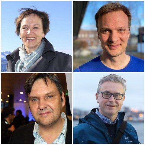Margunn Ebbesen, Bård Ludvig Thorheim, Jonny Finstad og Odd Emil Ingebrigtsen kan alle være kandidater til Høyres stortingsliste.