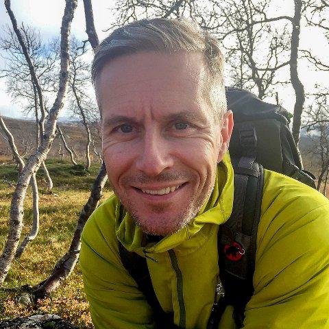 KLAR FOR NYE UTFORDRINGER: Svein Henrik Hedenstad skal begynne i selskapet Gosh! JB reklame.