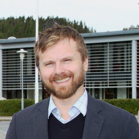 Andreas Førde, kommunikasjonssjef på Nord universitet.