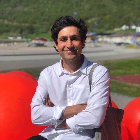 NYTILSATT: Navid Navid (33) er nytilsatt som kommunearkitekt i Meløy kommune.