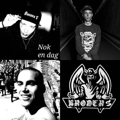 """Simon """"Broder S"""" Pettersen er tilbake på rapscenen. Denne gang sammen med Pant fra Herreløse og Martin Engan."""