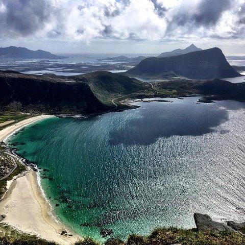 EUOPAMESTER: Hauklandstranda er kåret til Euopas fineste