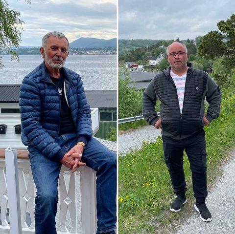 Sterk uenighet: Harry Evjen som er beboer i det aktuelle området, som Dag Egil Rugås ønsker å etablere det han kaller for en ny bydel. Det har fått fram sinnet hos begge parter.