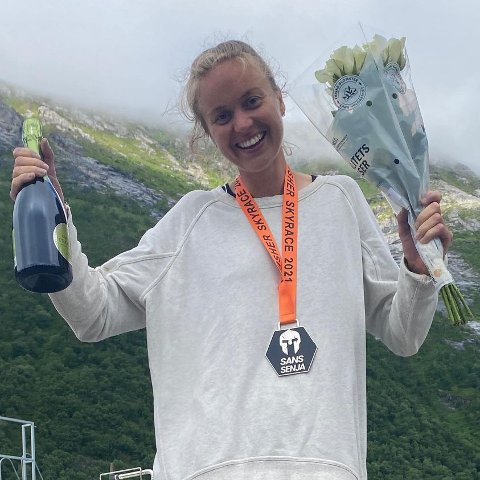 Ingrid Festø vant årets Sans Senja Skyrace med en imponerende tid.