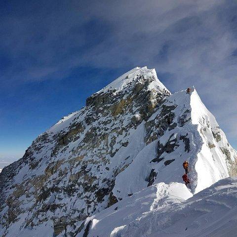 Fetteren Tommy Steinsland prøve å bestige Monut Everest noen dager etter Mats Steinsland. FOTO: EVENTYREISER.