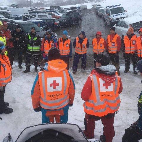 Hordaland Røde Kors deltok i leteaksjon etter at det gikk skred i Røldal tirsdag.