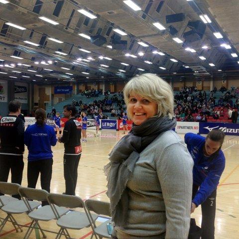 Daglig leder i Tertnes, Marit Brox, kan smile etter en sesong der tilskuertallene har gått kraftig opp.