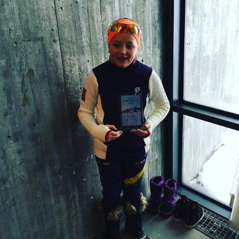 Sølvvinnar på Oslo Skifestival: Regine Kjølberg