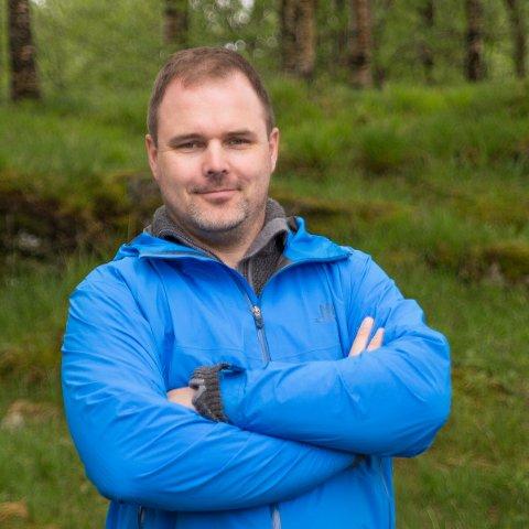 BLIR SENTRAL: Kjetil Bentsen er foreslått som ny styreleder for Egersund Sentrumsforening - som mandag trolig skifter navn til Egersund i sentrum.