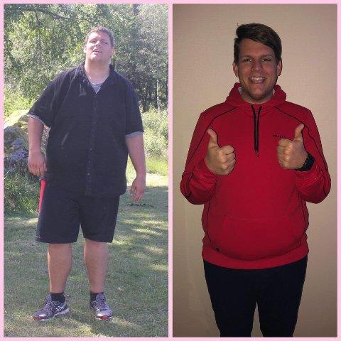 LIVSTILENDRING: Tommy bestemte seg for å ta grep for å forbedre livskvaliteten sin. Ved å gå turer, trene på treningssenter, samt endring av kostholdet, har han klart å gå ned 30 kilo i vekt. Nå er han lettere ikke bare fysisk, men også til sinns.