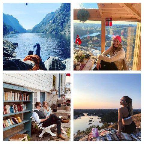 Sjekk ut hvor folk liker å ta instagrambilder i Dalane. Kanskje frister det å dra et sted du aldri har vært før?