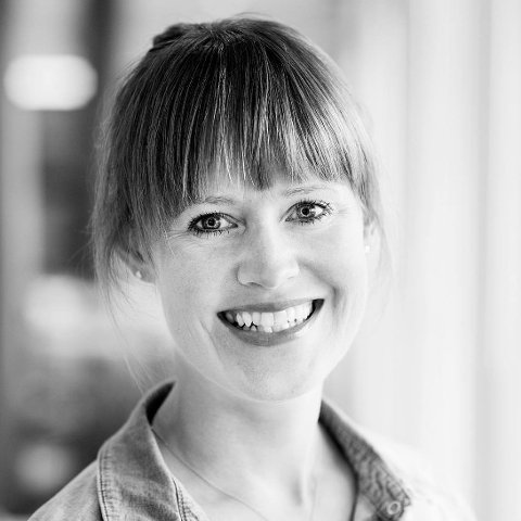 SKAL KURSE ANSATTE: Kristine Kjelsrud skal i løpet av de nærmeste månedene ta fatt på kursing i klarere språk i Lier kommune.