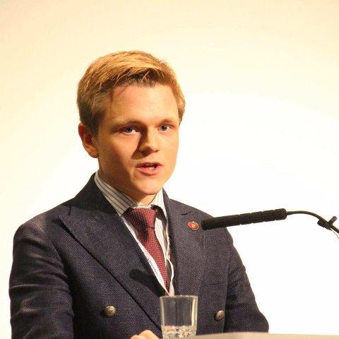 SKRIBENTEN: Jørgen B. Elstad, stortingskandidat for Frp fra Sande.