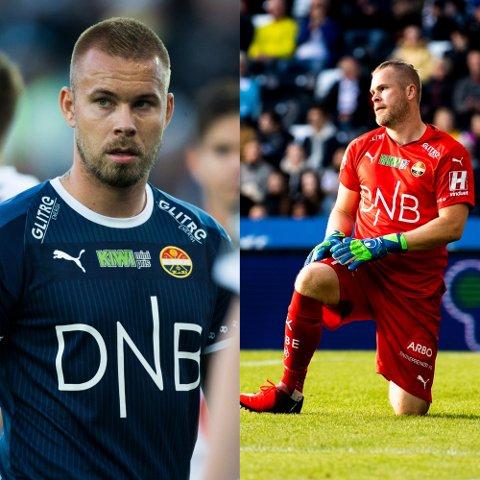 STARTER PÅ BENKEN: Verken Marcus Pedersen (t.v.) eller Espen Bugge Pettersen får starte mot Tromsø.