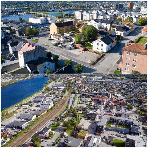 450 BOLIGER: De neste årene skal Jm Norge bygge 450 boliger i drammensområdet, blant annet i Brandtenborggata 7 i Drammen (øverst) og Arbeidergata 18 i Mjøndalen.