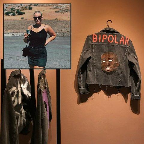 Da Synne Eilén Bråten (23) håndmalte rapperen Kanye West på en dongerijakke, begynte hun å få mer oppmerksomhet for jakkene.