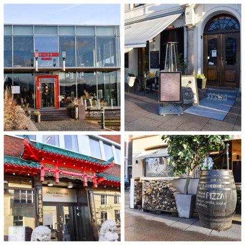 BREDT UTVALG: Kommunedel 8 byr på mange restauranter med ulike menyer og prisklasser.
