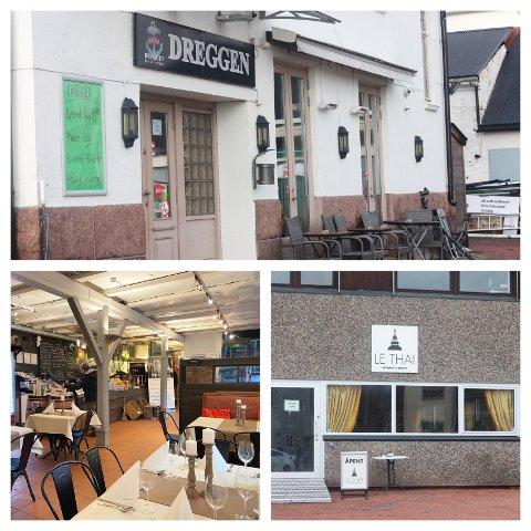 UTVALG: I kommunedel ni og ti er det fem restauranter med ulike menyer og spesialiteter.