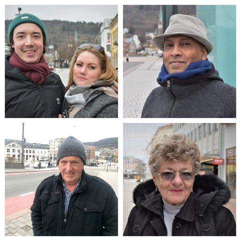 De fleste Drammens Tidende har spurt er litt mer forsiktig enn de var før.