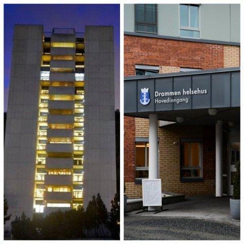 Drammen sykehus og Drammen helsehus hadde begge utbrudd i januar.