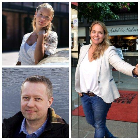 Flere har gledet seg lenge til denne dagen, inkludert produsentene Kaja Rosholt og Hanne Falch ved Drammen Scener og Stefan Knigge, daglig leder i Bowling 1.